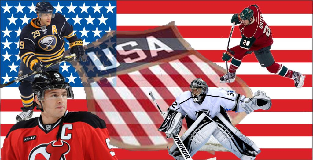 2014 USA men's Olympic hockey team projections