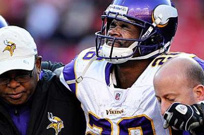 Loss of Peterson stalls Vikings' momentum