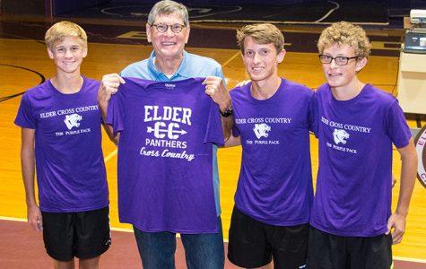 Former Olympian visits Elder
