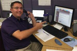 Alumni Director becomes a hermit