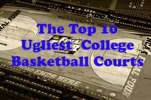 The purple quill college basketball the 10 ugliest courts for Cheapest way to make a basketball court