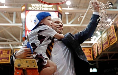 Coach Kelsey and the Winthrop Eagles go dancing