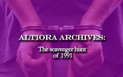 Altiora Archives: The Scavenger Hunt of 1991