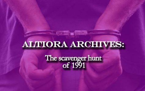 Altiora Archives: The Scavenger Hunt of 1991