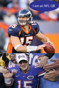 Tim Tebow: quarterback or dream weaver?