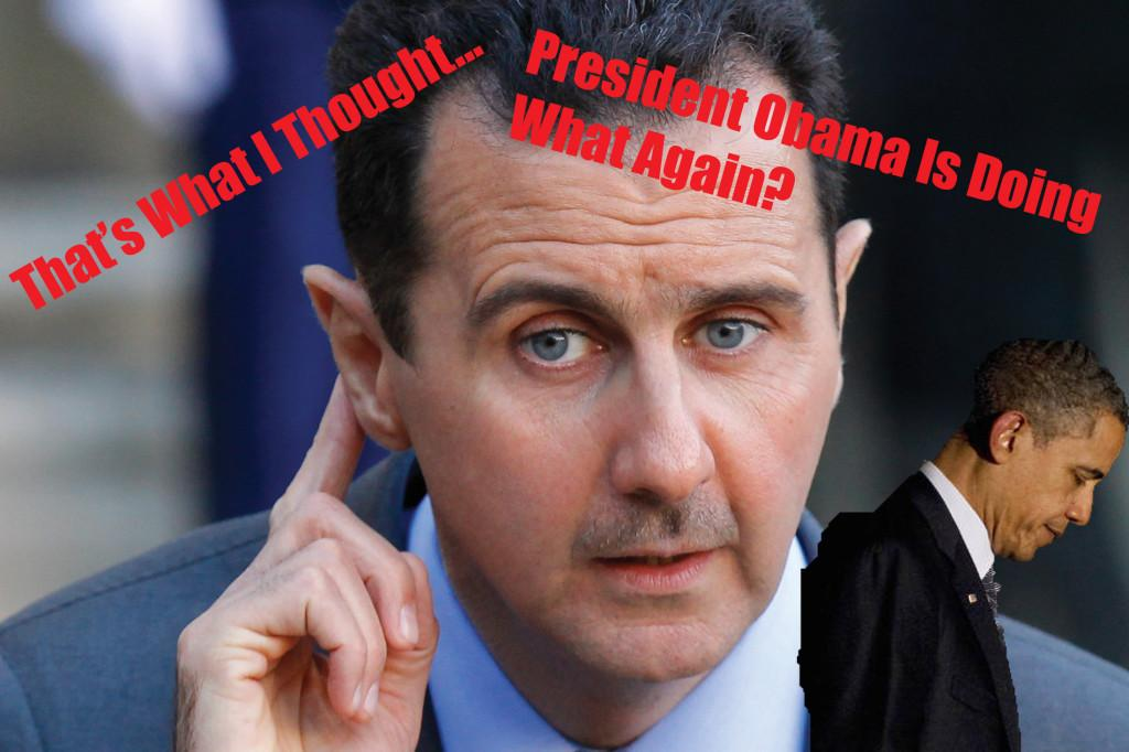 Bashar- Al Assad leaving President Obama with unanswered questions
