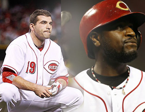 Joey Votto and Brandon Phillips both went 0-4 in Pittsburgh Tuesday night.