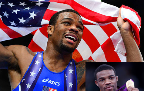 Burroughs wins gold on bum ankle