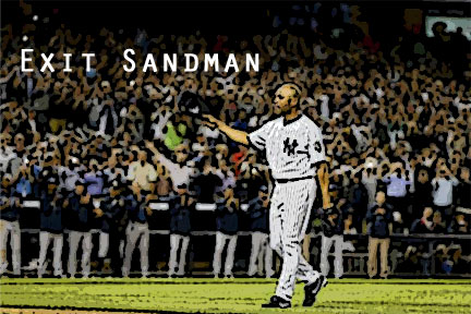 Mariano Rivera takes one last memorable walk off the field at Yankee Stadium