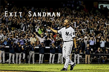 Mariano Rivera takes one last memorable walk off the field at Yankee Stadium