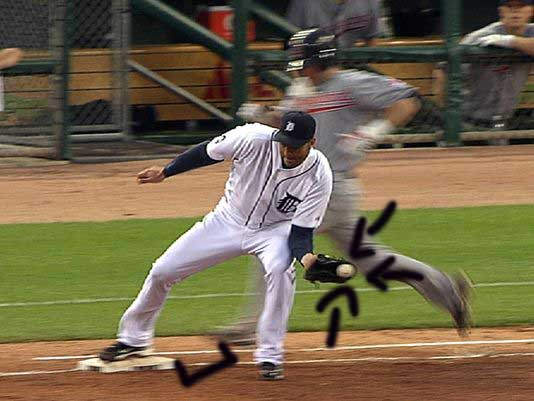 Armando Galarraga's almost perfect game destroyed by what would have been a reviewable play