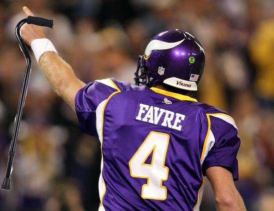 Brett Favre done for good