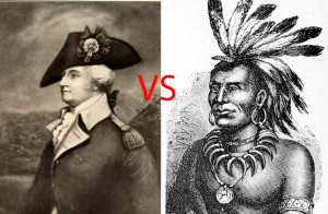 "Adversaries of the Northwest Indian War: General ""Mad Anthony"" Wayne and Miami chief Little Turtle"