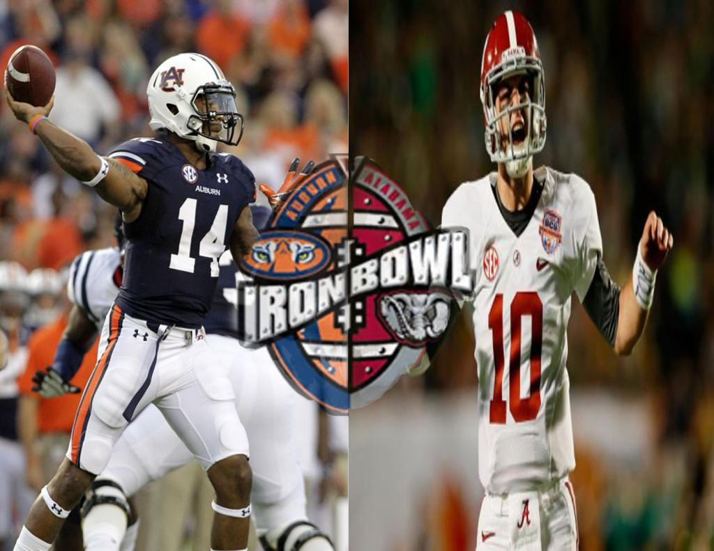 The Tide look to roll into Auburn and get a win