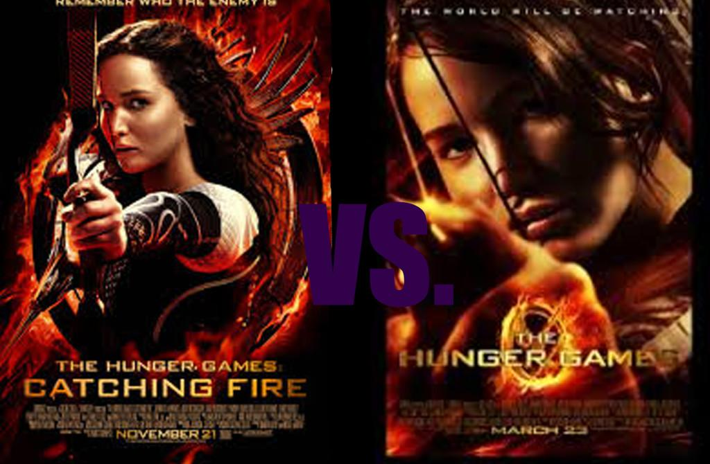 You decide which is your favorite, Catching Fire or Hunger Games.