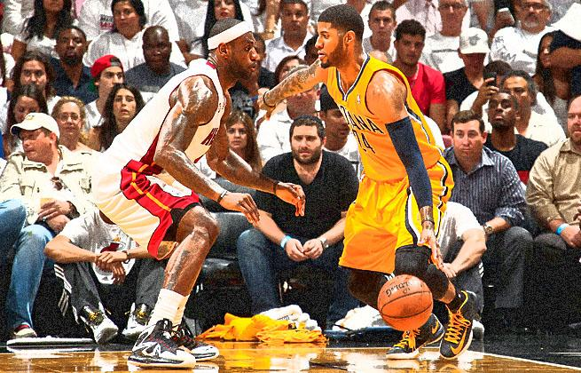 LeBron James and Paul George headline the budding rivalry between the Pacers and Heat