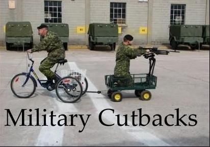 Military benefit cuts coming