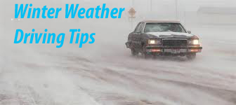 Safe Driving in winter weather