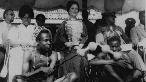 Shirley as ambassador to Ghana