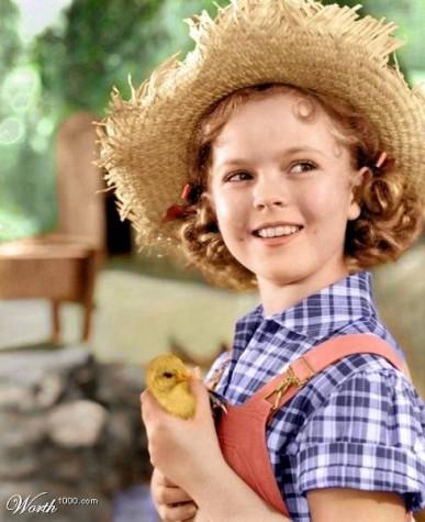 "Shirley in ""Rebecca of Sunnybrook Farm"""