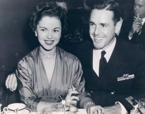 Shirley and her husband Charles Black