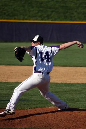 Senior Austin Koch anchors this years pitching staff