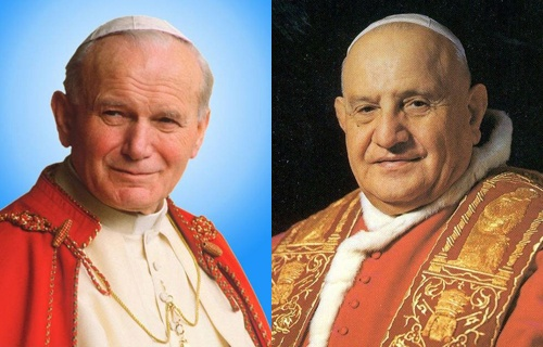John Paul II and John XXIII join the communion of Saints