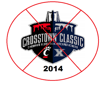 The 2014 Crosstown Classic will be cancelled