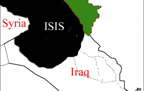 The chaos resulting from the ISIS offensive has split Iraq into three parts.