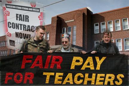 Teachers' demands