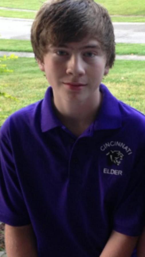 Freshman Andrew Hester