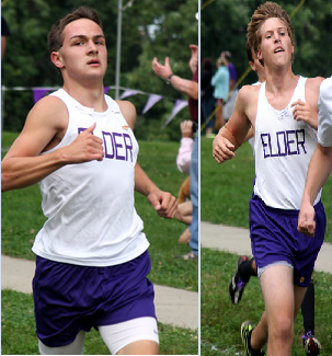 Eric Huff and Michael Huschart are the heart and soul of Elder Cross Country