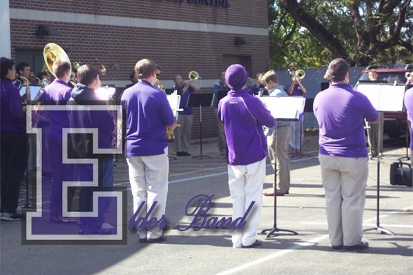 Elder Band marches hard
