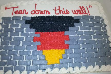 Cake made for the class celebration by Sophomores Isaac Moores mother.