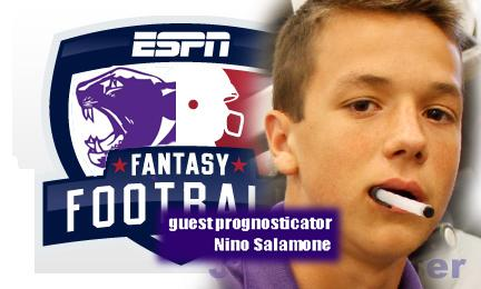 This week in fantasy: Nino Salamone