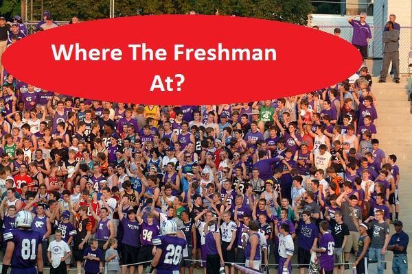 Freshmen: Too many Dr. Phils