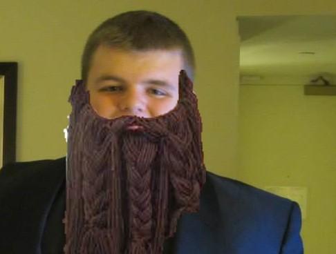 Sam Florian's norse beard