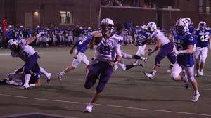 Junior quarterback Peyton Ramsey makes a dash for pay dirt against Highlands