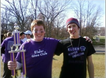 Members of the Glee Club and Band from the 2008 Turkey Bowl