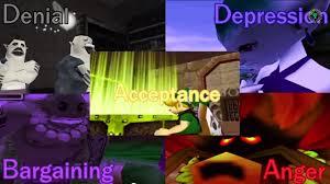 majora's 5 stages