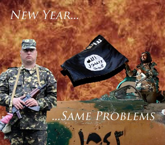 Celebrate a new year with the same problems!