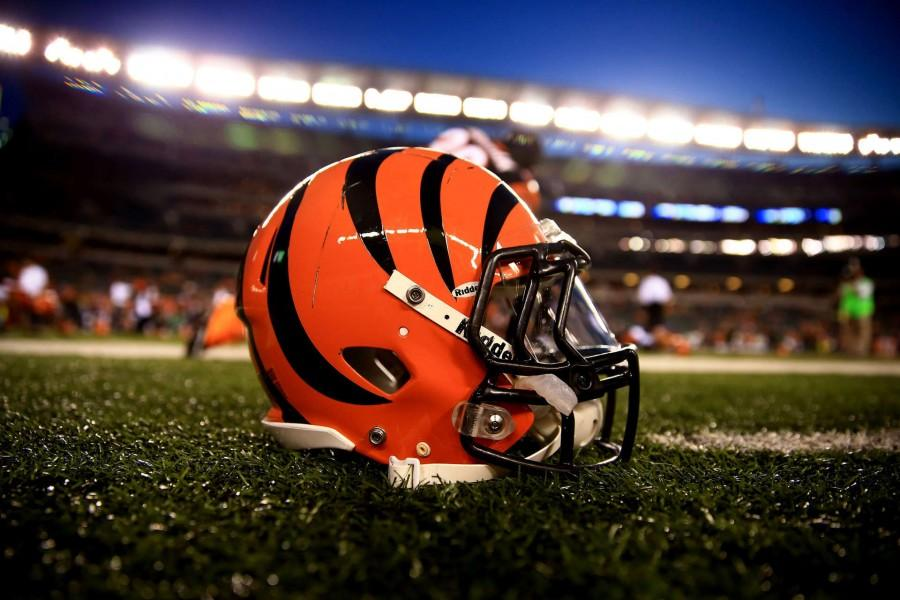 Cincinnati+Bengals+Helmet