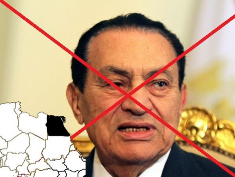 Egyptian president Hosni Mubarak was overthrown in 2011.