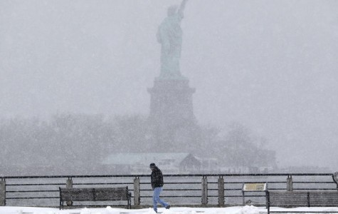Storms pound east coast cities