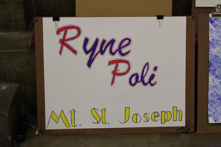 Ryne Poli AP Name Tag