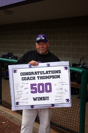 Thompson reaches 500 wins