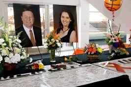 Coaches of the 2011 women's basketball team Kurt Budke and Miranda Serna