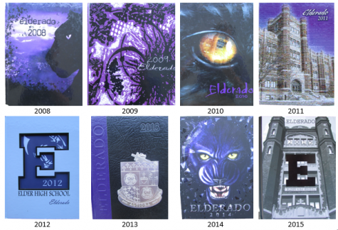 "The ""Elderado"" covers from each year dating back to 2008"