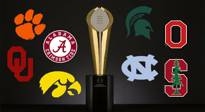 College playoff selections coming down to the wire