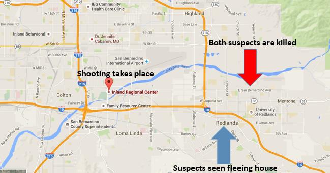 Updates map